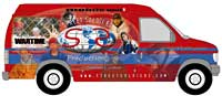 Watch for the Street Soldiers Mobile Store in your neighborhood and buy your favorite artist's CD.